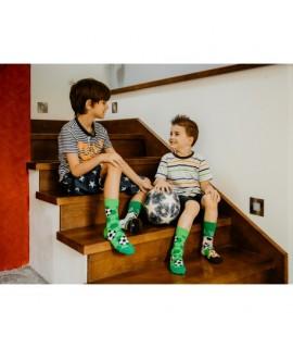 Veselé ponožky HESTY - Futbalista - Detské 25-29