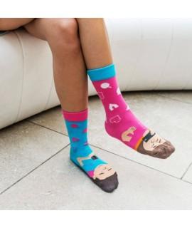 Veselé ponožky HESTY - Instagramisti 43-46