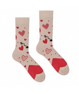 Veselé ponožky HESTY - Láska 35-38