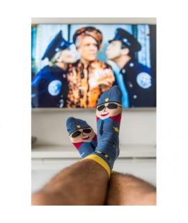 Veselé ponožky HESTY - Policajti 35-38