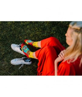 Veselé ponožky HESTY - Super Teddy 35-38