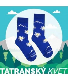 Veselé ponožky HESTY Vysoké Tatry – Tatranský kvet 35-38