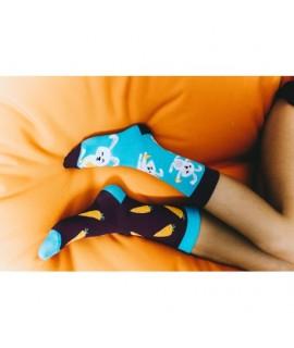 Veselé ponožky HESTY - Zajkáče 35-38