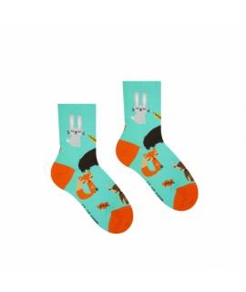 Veselé ponožky HESTY - Zvieratká - Detské 30-34