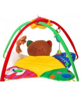 Detská deka s hrazdičkou plyšový medvedík