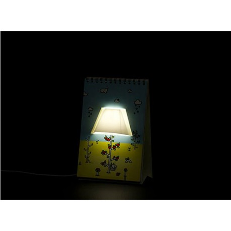 USB lampa - Page by page